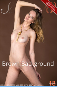 Stunning18 - Irene - Brown Background by Antonio Clemens