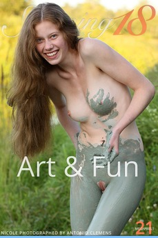 Stunning18 - Nicole - Art & Fun by Antonio Clemens