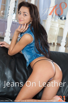 Jeans On Leather