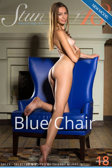 Stunning18 - Sally - Blue Chair by Antonio Clemens