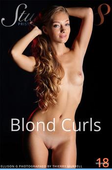 Stunning18 - Ellison G - Blond Curls by Antonio Clemens