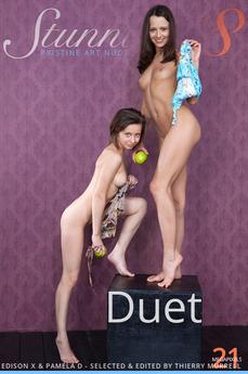 Stunning18 - Edison X & Pamela D - Duet by Antonio Clemens