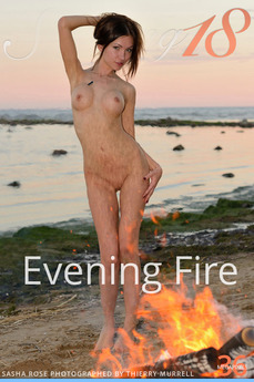 Stunning18 - Sasha Rose - Evening Fire by Antonio Clemens