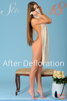 Stunning 18 After Defloration Kristel A