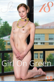 Stunning18 - Mia - Girl On Green by Antonio Clemens