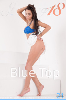 Stunning18 - Dolores M - Blue Top by Antonio Clemens