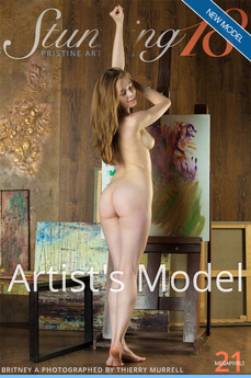 Stunning18 - Britney A - Artist's Model by Antonio Clemens