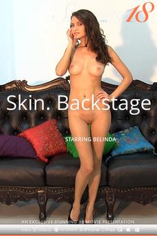 Skin. Backstage
